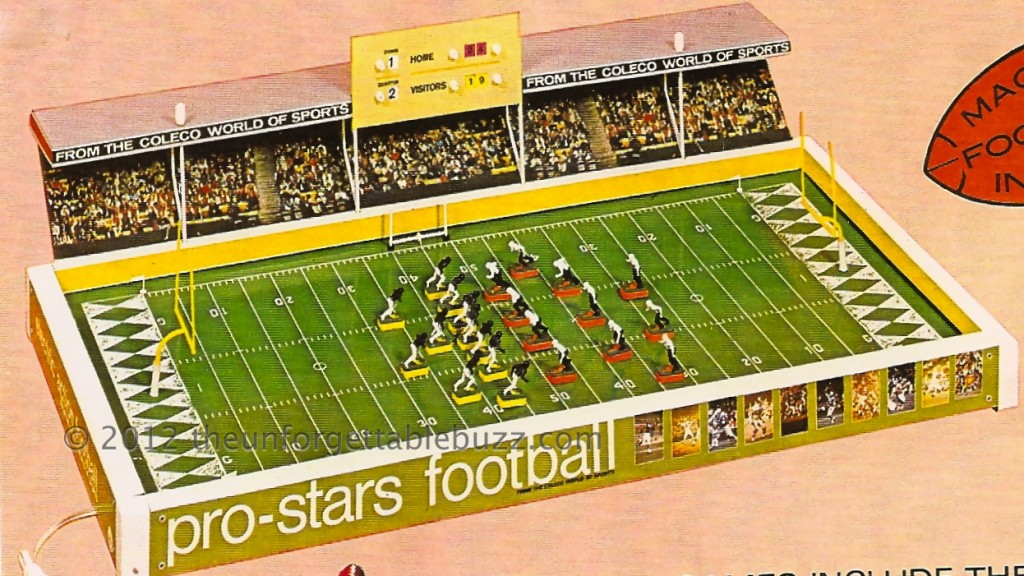 Coleco Electric Football game 1970