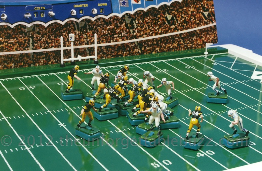 Missed Electric Football Vintage Nfl Week 5 Matchup Colts Vs
