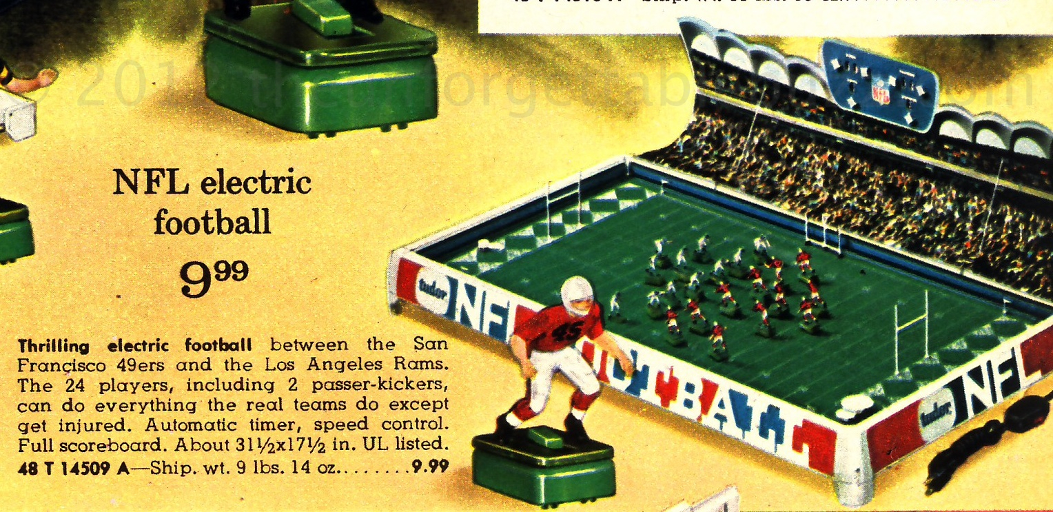 Electric Football Vintage Matchup Week 10 - Los Angeles
