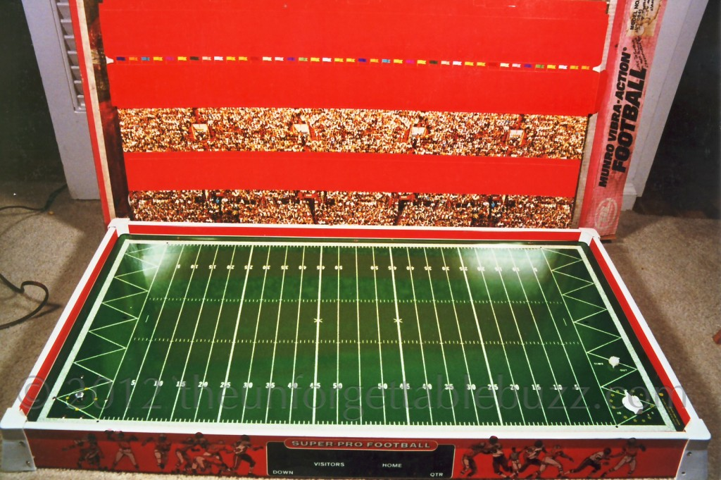 Electric football Munro 1971 Canadian CFL Vibra Action