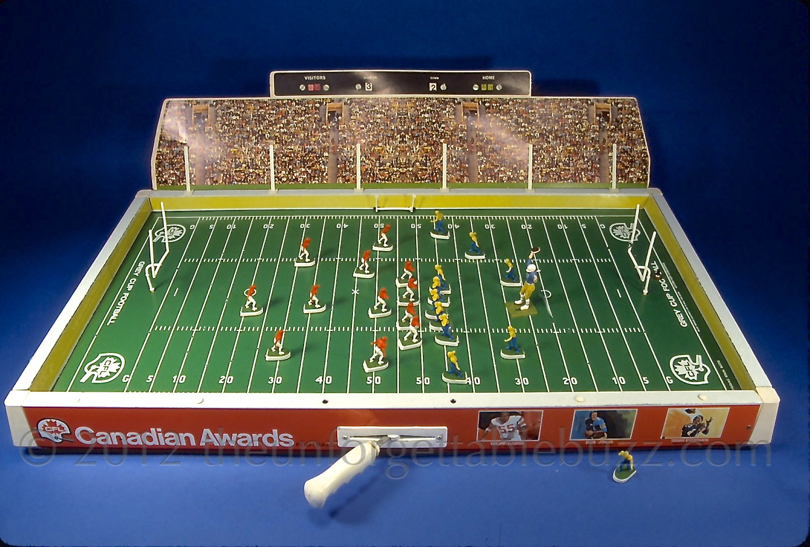 Electric Football Game Coleco 1973