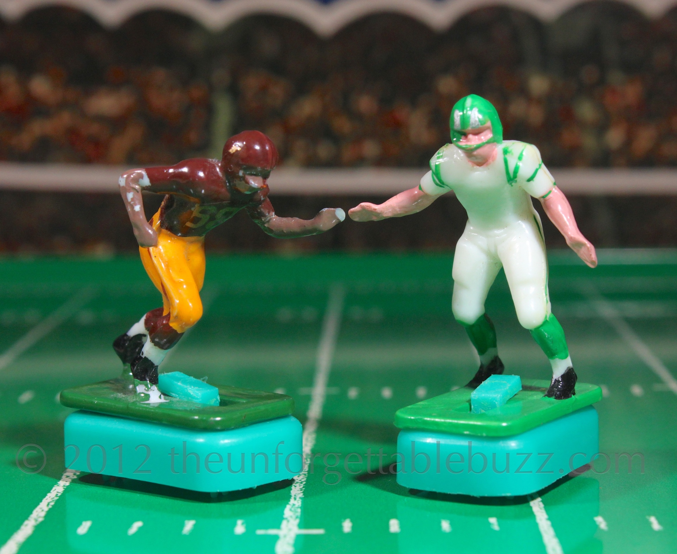 Electric Football Tudor 1967 Redskins And Eagles