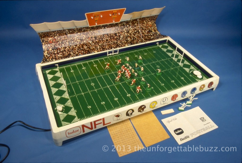 electric football sears 613 NFL 1967 Tudor