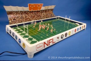 The 1967 Tudor NFL No. 613 Electric Football game