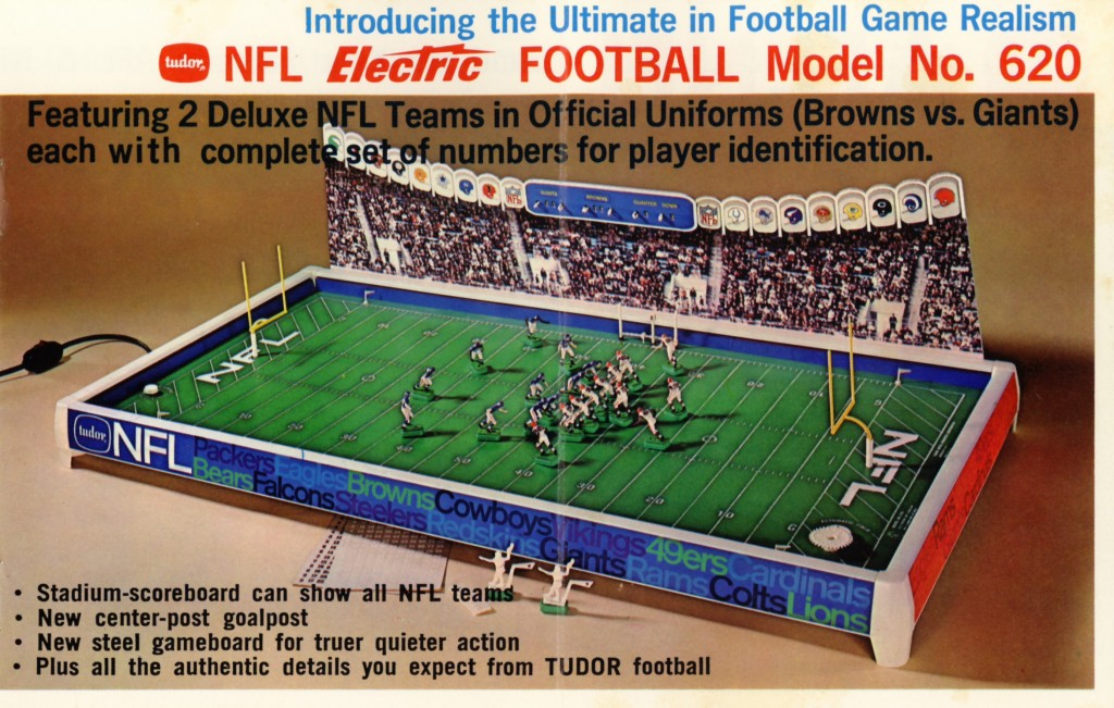 The 1967 NFL No. 620 in the Tudor Rule Book