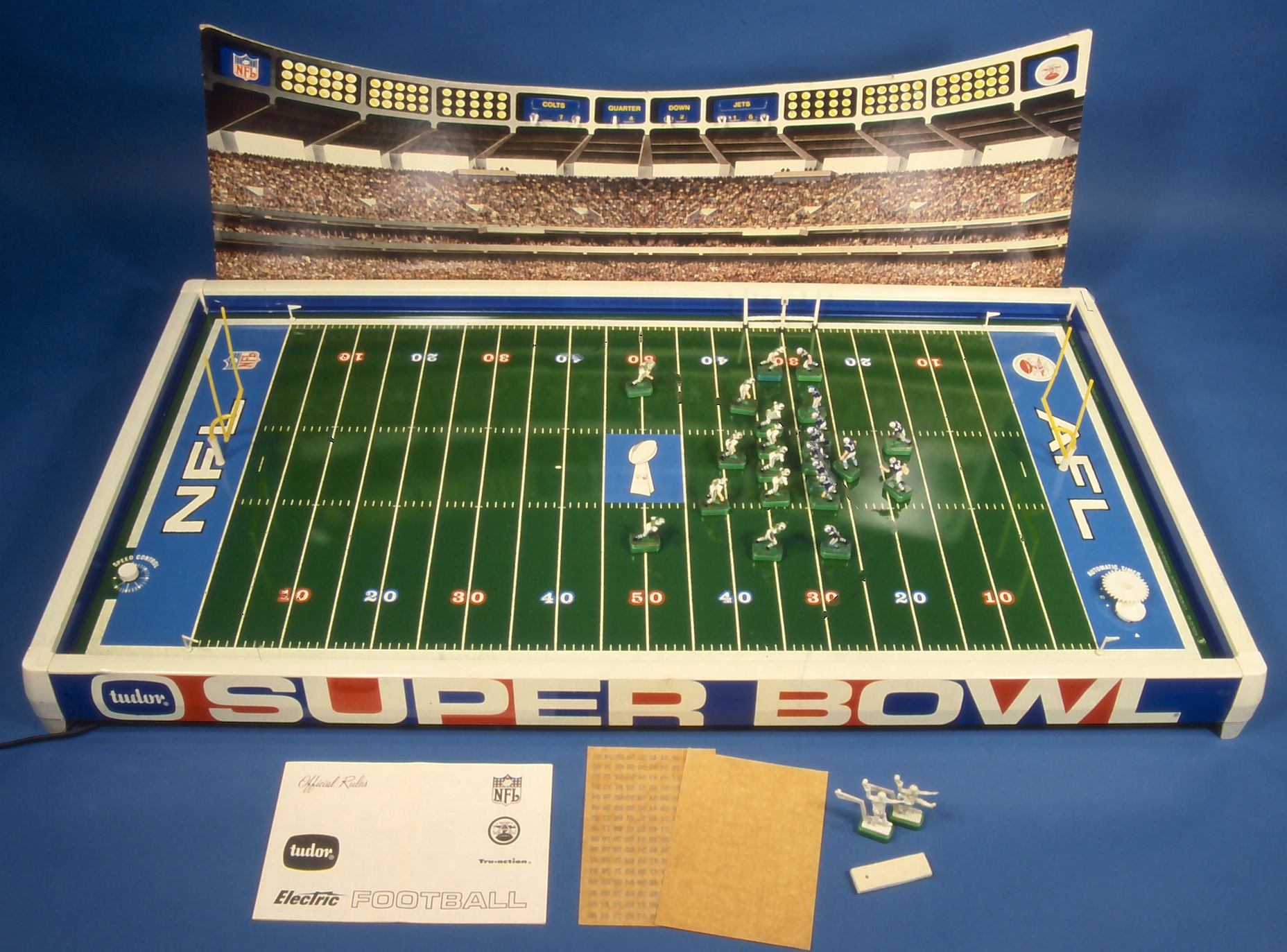 The 1969 Sears Tudor Super Bowl With Jets And Colts