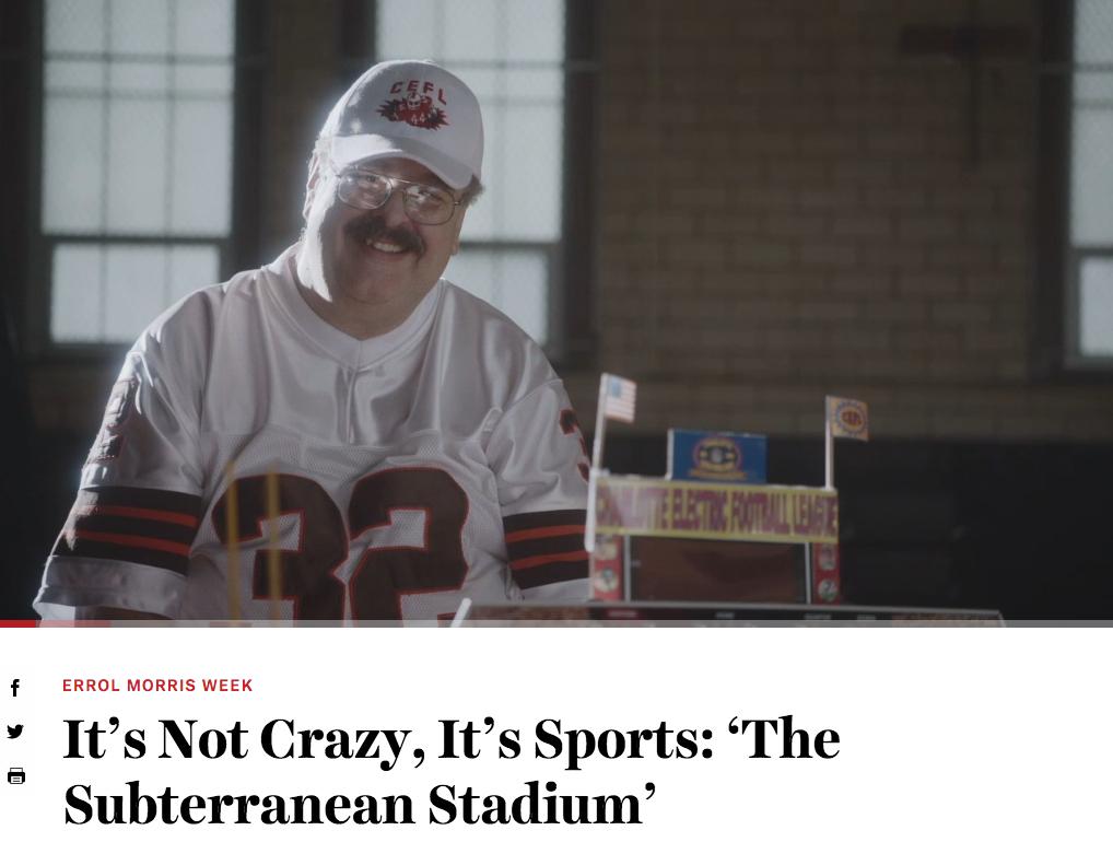 John DiCarlo and ESPN's Subterranean Stadium
