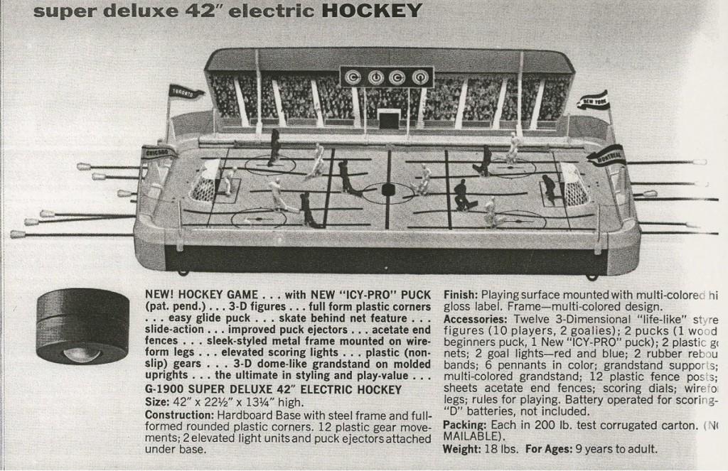 1964 Gotham hockey game