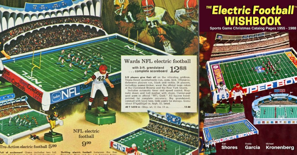 "<alt img=""1969 Ward Christmas Electric Football page And the Electric Football Wishbook"">"
