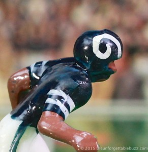 Electric Football Los Angeles Rams player with helmet horn