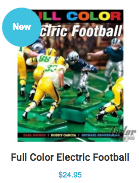 "<img alt=""Tudor Games Full Color Electric Football Book Buy Icon"">"
