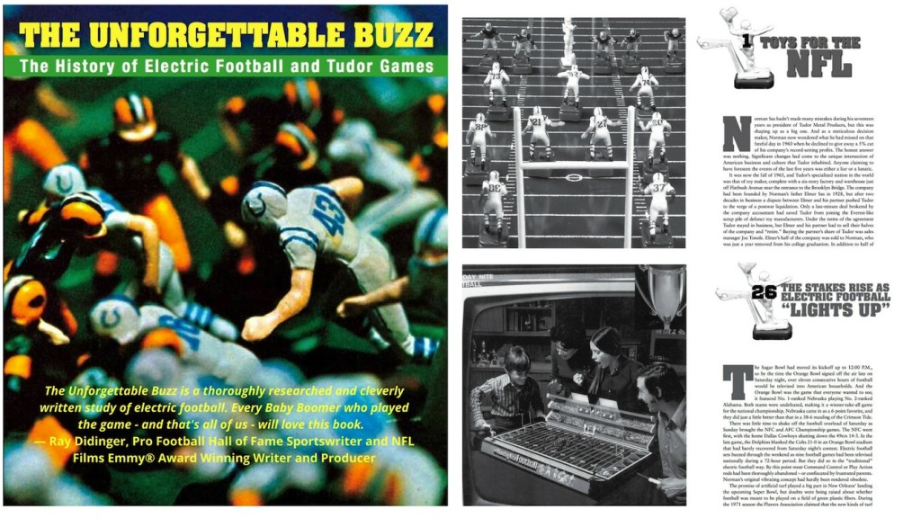 "<img alt=""The Unforgettable Buzz cover and Chapter 1 page"">"