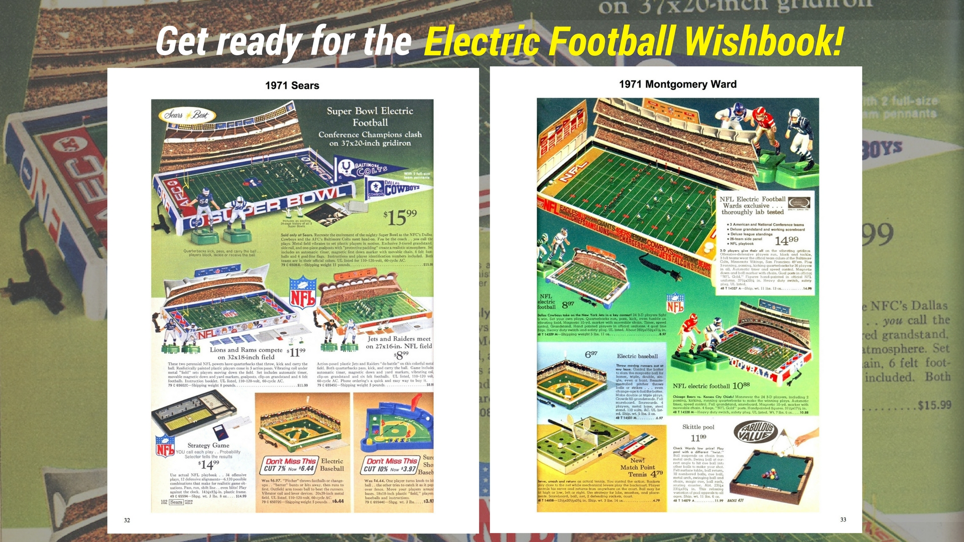 """<img alt=""""The 1971 page spread from the Electric Football Wishbook"""">"""