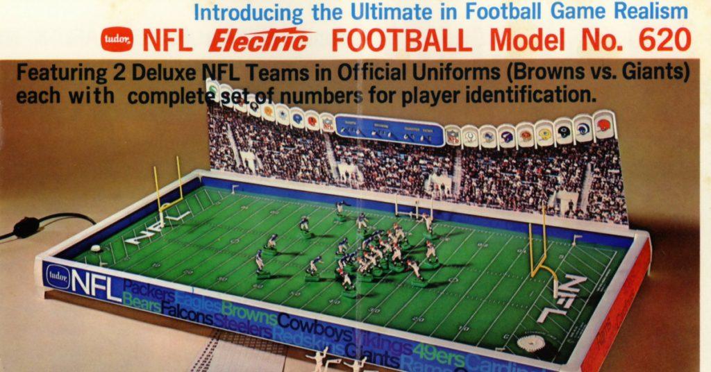 """<img alt=""""1967 Tudor NFL 620 game as seen in the Tudor Rule Book"""">"""