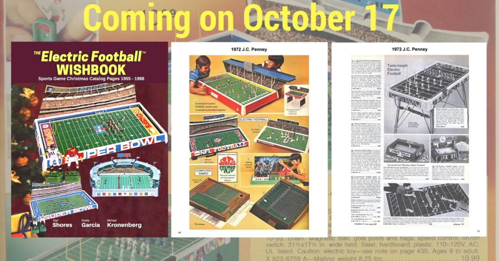 "<img alt=""Electric Football Wishbook cover and sample pages"">"