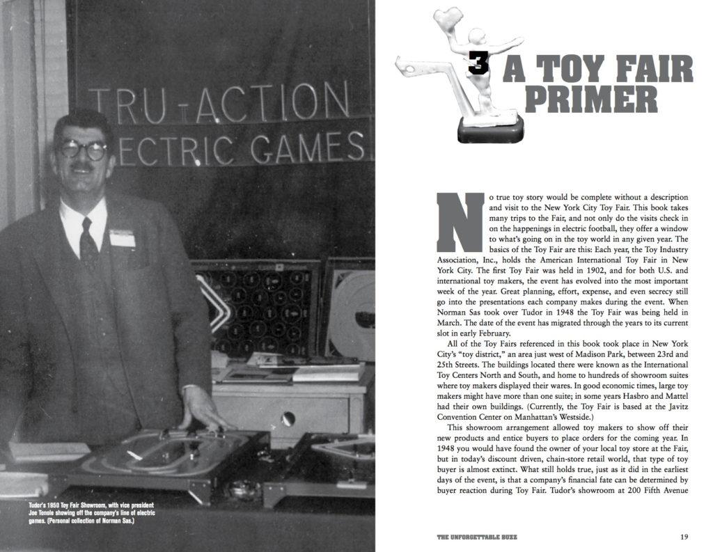 "<img alt=""1950 Toy Fair Tudor Showroom Joe Tonole Electric Football"">"