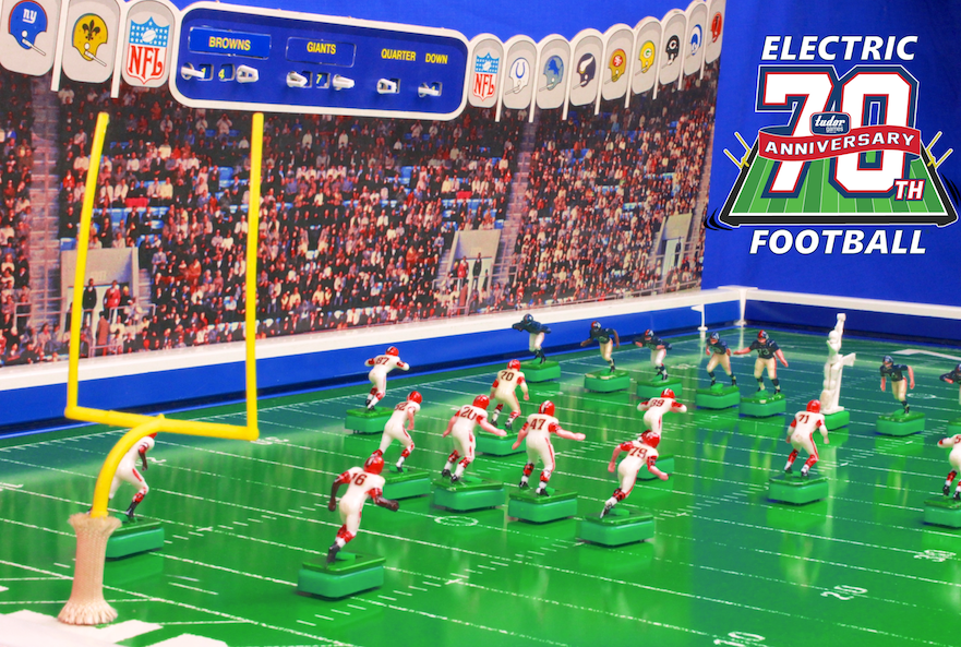 d8540ba0f0c What an exciting time it is to have Tudor Games Electric Football be one of  the 12 finalists for the National Toy Hall of Fame.